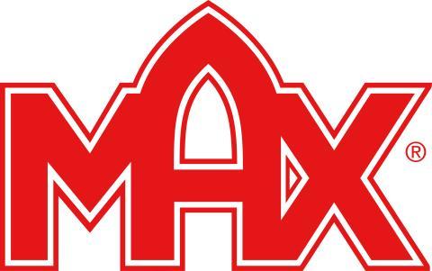 Logotype MAX utan payoff