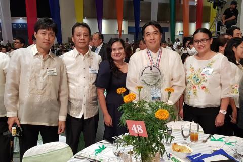 Epson Precision (Philippines) Inc. receives PEZA Outstanding Environmental Performance Award