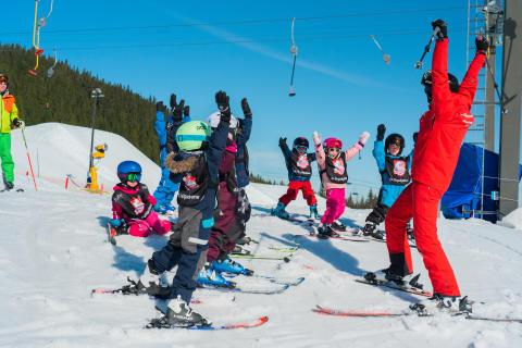 Skiskole for barna