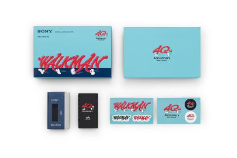Sony viert 40e verjaardag van Walkman met speciale editie