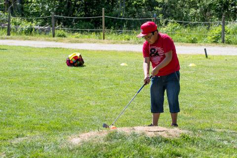 Golfkurs - Edwin