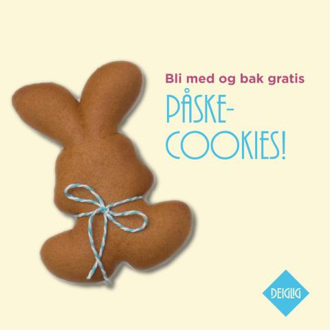 Bak gratis påskecookies på Deiglig  Frederikke