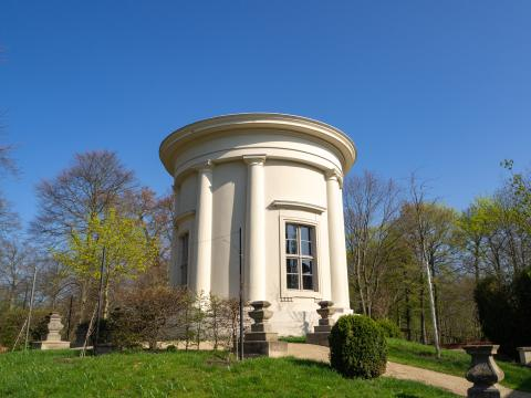 Apollotempel Tempelgarten Neuruppin.