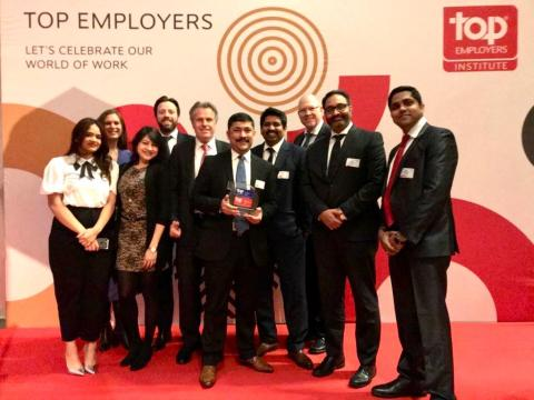 Tata Consultancy Services (TCS) Netherlands recognized as Top Employer