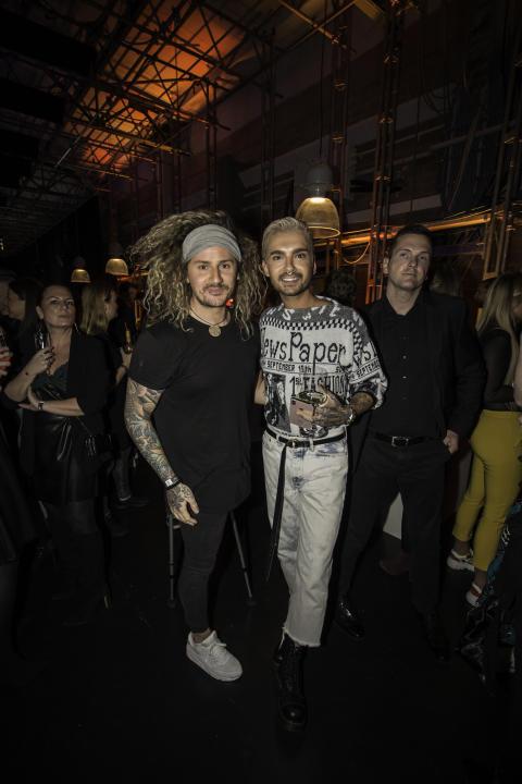Tom Belz und Bill Kaulitz auf der MADE FOR MORE AWARD Aftershow-Party