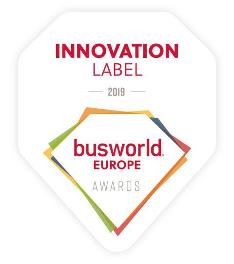 Innovation Label Winner Busworld 2019