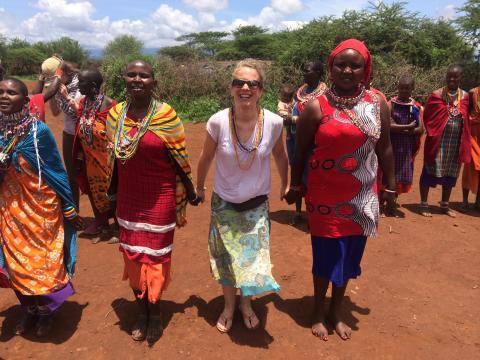 Osteopathischer Hilfseinsatz: Zwei Wochen quer durch Kenia /  Interview mit der Hamburger Osteopathin und VOD-Mitglied Nina Zimmerling