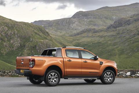 Helt nye Ford Ranger med debut på den Internasjonale bilutstillingen i Frankfurt