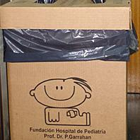 Recycling program raises funds for children's hospital