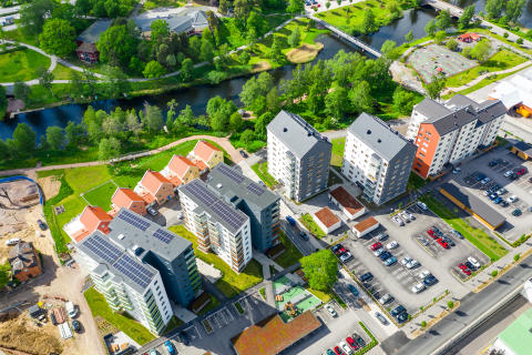 Etapp 3 vid Svartå Strand är nu slutsåld och försäljningen av etapp 4 pågår