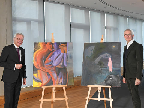 apoBank fördert junge Kunst und unterstützt die Düsseldorfer Kunstakademie