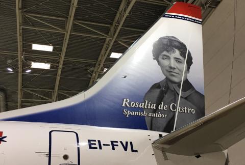 Rosalía de Castro, babor.