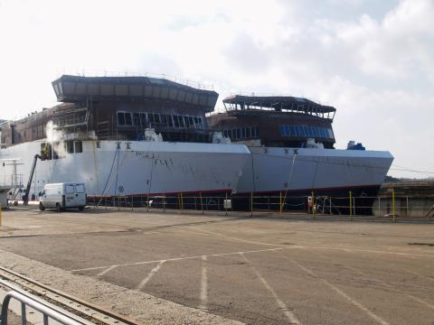 Scandlines' nye skibe når synlig milepæl