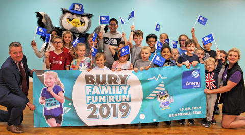 ​Come on Bury, let's get together for the family fun run!