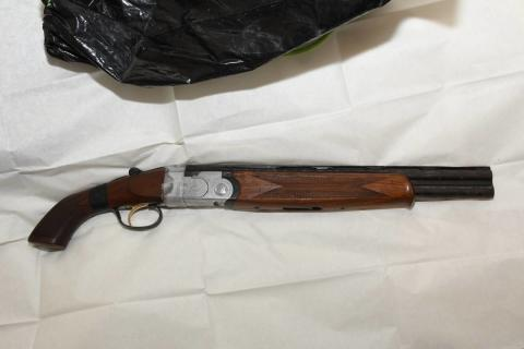 Shotgun recovered following warrant in Walton