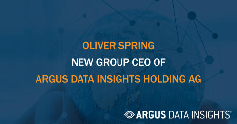 ARGUS DATA INSIGHTS Holding AG appoints Oliver Spring as new Group CEO