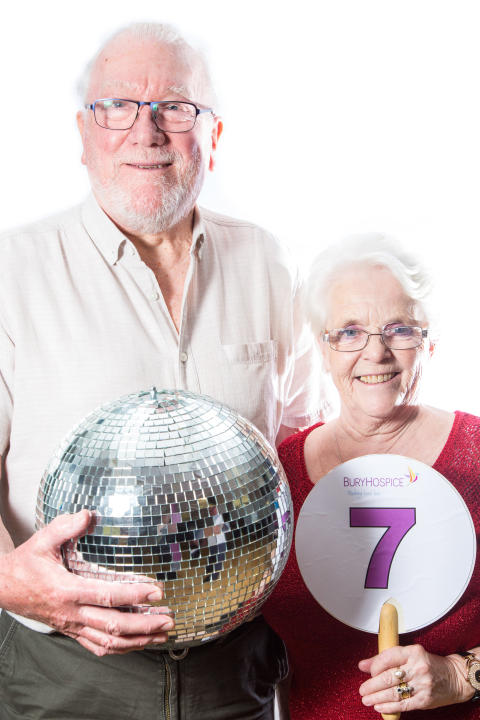 Strictly best foot forward for Bury Hospice