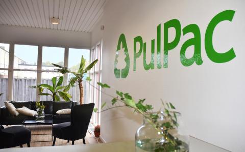 PulPac tar in kapital för att industrialisera teknik som revolutionerar hållbara förpackningar
