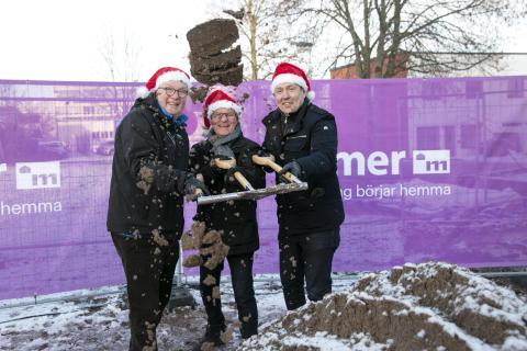 Julklapp till Vallby - en ny vårdcentral och 44 bostäder