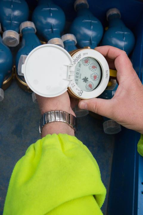 NSVA - vattenmätare