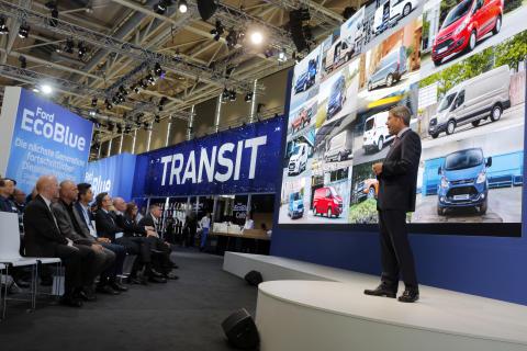Fords dieselrevolusjon har verdenspremiere