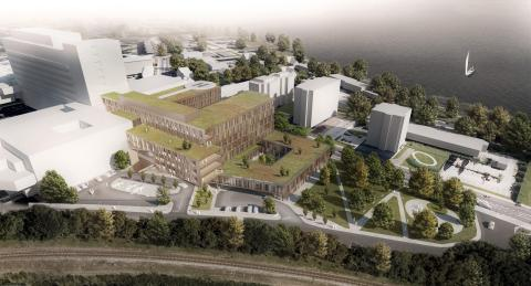 Avanceret BMS-system til topmoderne akutcenter