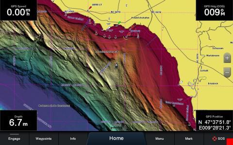 Umfangreiches Update für Garmins Seekarten BlueChart g3