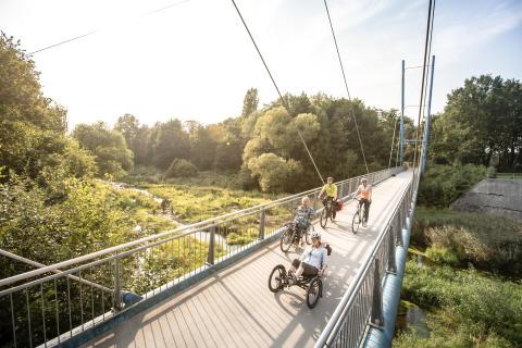 """Die Römer-Lippe-Route veröffentlicht die Evaluation 2019 sowie den Abschlussbericht des EFRE-Förderprojekts """"Barrierefreier Radtourismus an der Römer-Lippe-Route"""""""