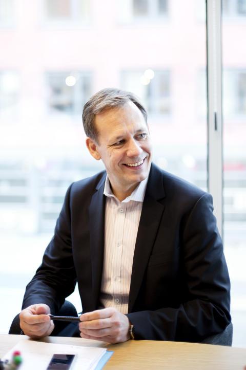 Christian Dahlman,  bostadsutvecklingschef Ikano Bostad