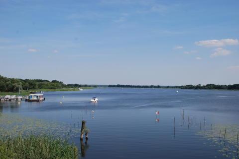 Der Hohennauener See im Havelland