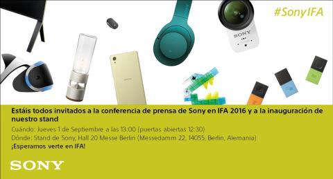 Sony en IFA 2016