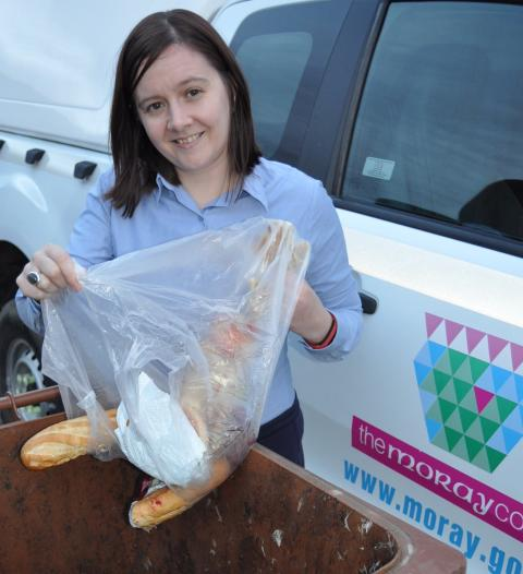 Moray households urged to recycle Christmas food waste