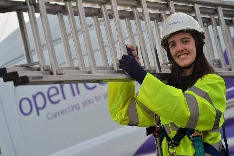 580 new trainee engineers for London in Openreach's biggest ever recruitment drive