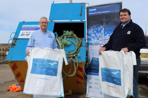 Buckie Harbour joins international sea clean-up scheme.