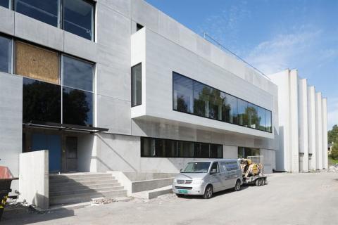 Aspelin Ramms lager- og kontorbygg i Sven Oftedals vei 10 i Oslo.