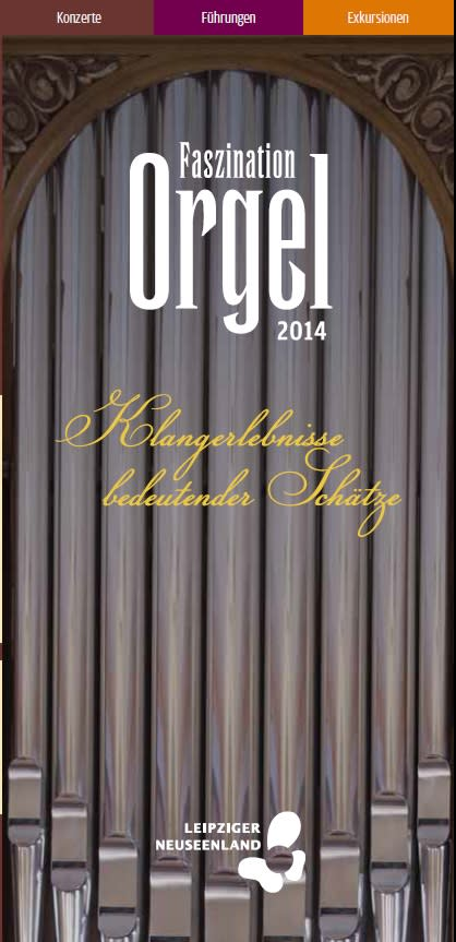 "Faltblatt ""Faszination Orgel 2014"""