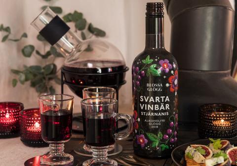 Blossa Hantverksglögg 2018 med smak av svarta vinbär