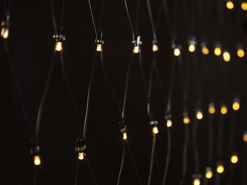 Berömda Ljusslinga LED nät - Biltema Sweden XC-45