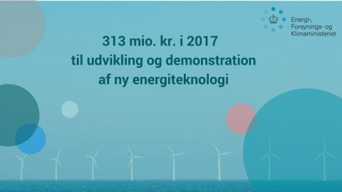 183 mio. kr. til fremtidens energiteknologi