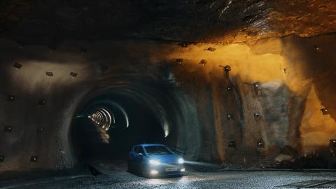 Ford Fiesta ST saltgruve 2018 Undertrack