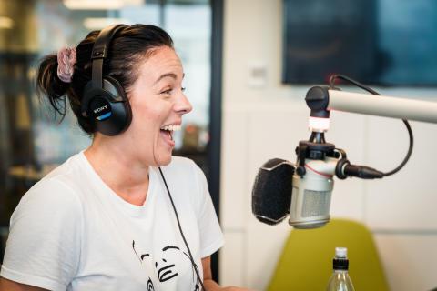Mästerkocken Sandra Mastio till Retro FM i Skåne
