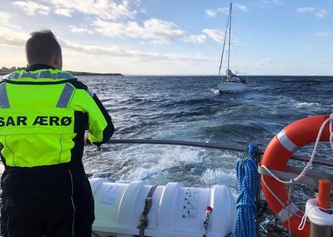 ESVAGT medarbejdere frivillige SAR Ærø