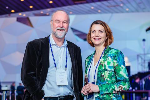 Spesialrådgiver Jan Bråthen i Statnett og utviklingssjef Gunnel Fottland i Enova