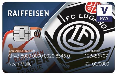 Kartenbilder VPAY Raiffeisen FC Lugano