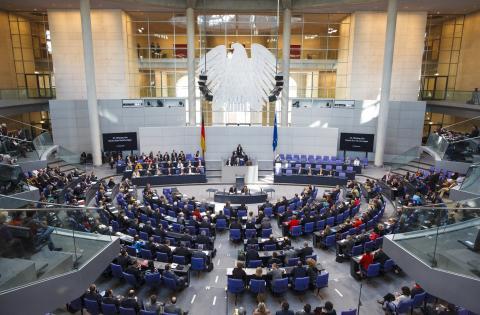 Diskussion zum Betriebsrentenstärkungsgesetz im Bundestag
