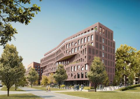 ZÜBLIN starts structural works for new Campus II construction project in Frankfurt