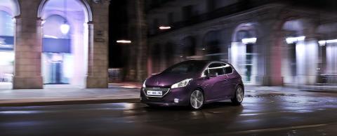 Peugeot på bilsalongen i Paris: Peugeot 208 XY – exklusiv och urban småbil
