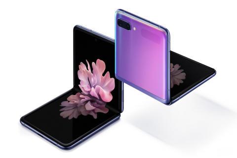 Galaxy Z Flip - Samsungs første mobil med brettbar glassskjerm er nå lansert