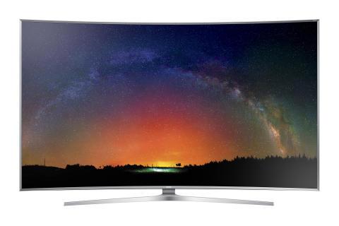 Dype og sprakende farger i Samsungs nye topp-TV