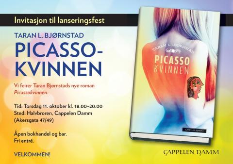 Velkommen til lansering: Picassokvinnen